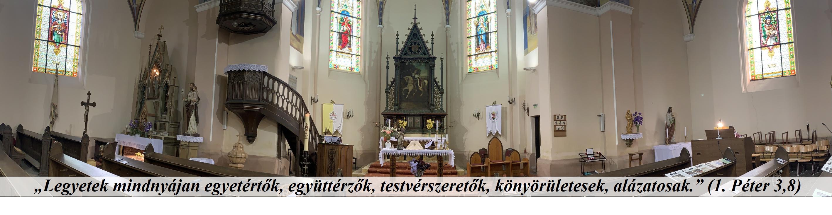 Logo for Szent László katolikus templom